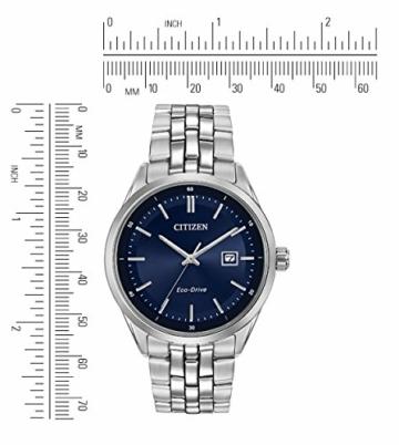 CITIZEN Herren Analog Quarz Uhr mit Edelstahl Armband BM7251-53L - 2