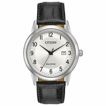 CITIZEN Herren Analog Quarz Uhr mit Leder Armband AW1231-07A - 1