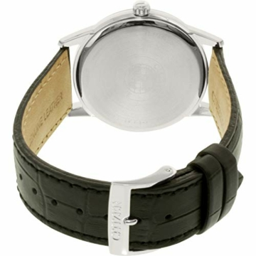 CITIZEN Herren Analog Quarz Uhr mit Leder Armband AW1231-07A - 3