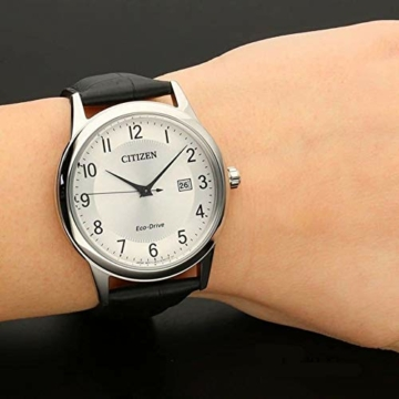CITIZEN Herren Analog Quarz Uhr mit Leder Armband AW1231-07A - 4