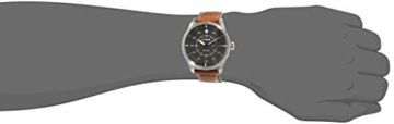 Citizen Herren Analog Quarz Uhr mit Leder Armband AW1360-12H - 2