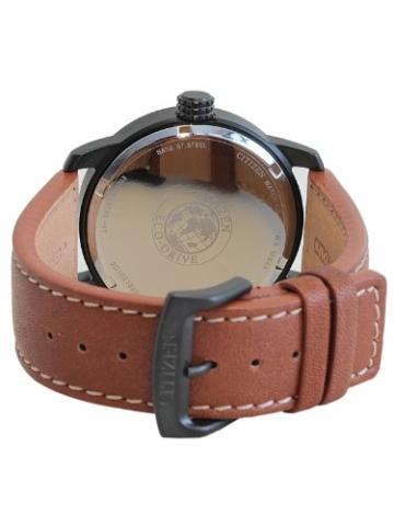 Citizen Herren Analog Quarz Uhr mit Leder Armband BM8476-07EE - 2