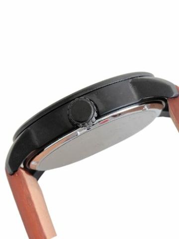 Citizen Herren Analog Quarz Uhr mit Leder Armband BM8476-07EE - 3