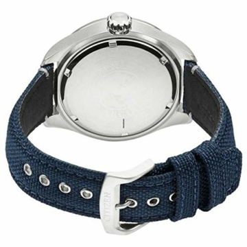 Citizen Herren Analog Quarz Uhr mit Nylon Armband AW5000-16L - 2