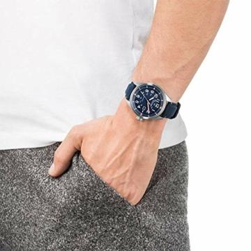 Citizen Herren Analog Quarz Uhr mit Nylon Armband AW5000-16L - 6