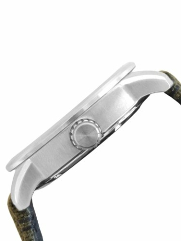 Citizen Herren Analog Quarz Uhr mit Nylon Armband BM8470-11EE - 4