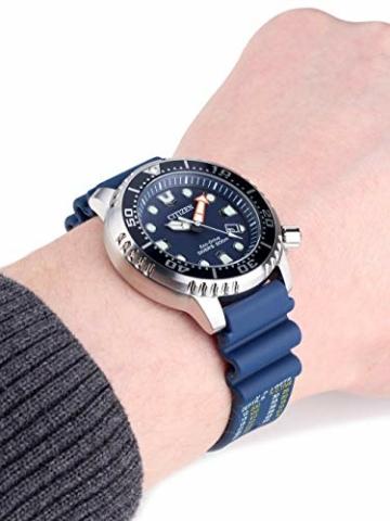 CITIZEN Herren Analog Quarz Uhr mit Plastik Armband BN0151-17L - 5