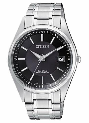 CITIZEN Herren Analog Solar Uhr mit Edelstahl Armband AS2050-87E - 1