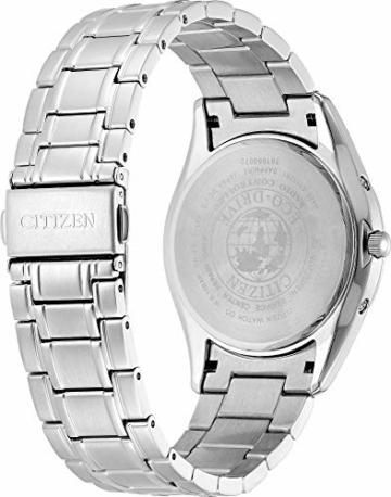 CITIZEN Herren Analog Solar Uhr mit Edelstahl Armband AS2050-87E - 2