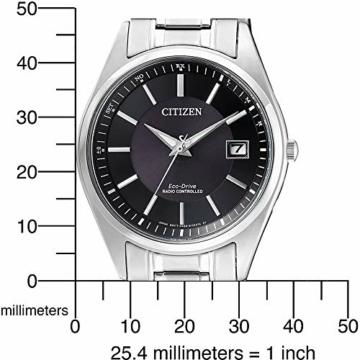 CITIZEN Herren Analog Solar Uhr mit Edelstahl Armband AS2050-87E - 5