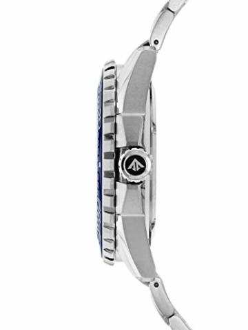 CITIZEN Herren Analog Solar Uhr mit Edelstahl Armband BN0191-80L - 3