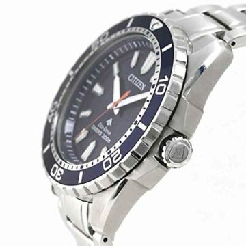 CITIZEN Herren Analog Solar Uhr mit Edelstahl Armband BN0191-80L - 4
