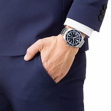 CITIZEN Herren Analog Solar Uhr mit Edelstahl Armband BN0191-80L - 5