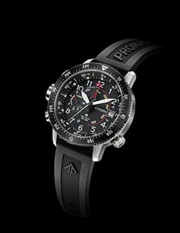 Citizen Herren Analog Solar Uhr mit PU Armband BN4044-15E - 5