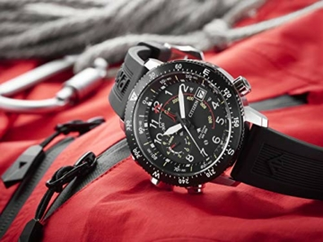 Citizen Herren Analog Solar Uhr mit PU Armband BN4044-15E - 6
