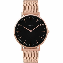 Cluse Damen Analog Quarz Uhr mit Edelstahl Armband CW0101201003 - 1