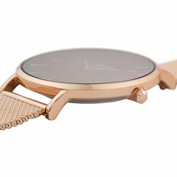 Cluse Damen Analog Quarz Uhr mit Edelstahl Armband CW0101201003 - 2