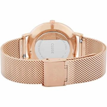 Cluse Damen Analog Quarz Uhr mit Edelstahl Armband CW0101201003 - 3