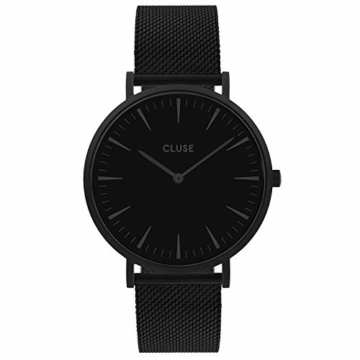 CLUSE Damen Analog Quarz Uhr mit Edelstahl Armband CW0101201005 - 1