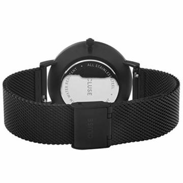 CLUSE Damen Analog Quarz Uhr mit Edelstahl Armband CW0101201005 - 3