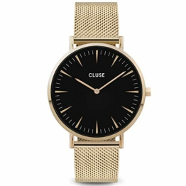 CLUSE Damen Analog Quarz Uhr mit Edelstahl Armband CW0101201014 - 1