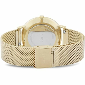 CLUSE Damen Analog Quarz Uhr mit Edelstahl Armband CW0101201014 - 3