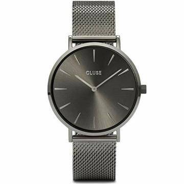 CLUSE Damen Analog Quarz Uhr mit Edelstahl Armband CW0101201022 - 1