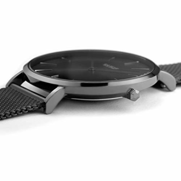 CLUSE Damen Analog Quarz Uhr mit Edelstahl Armband CW0101201022 - 2