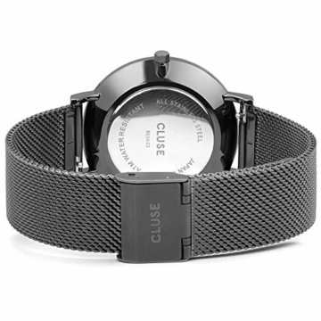CLUSE Damen Analog Quarz Uhr mit Edelstahl Armband CW0101201022 - 3