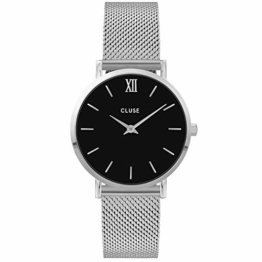 CLUSE Damen Analog Quarz Uhr mit Edelstahl Armband CW0101203005 - 1