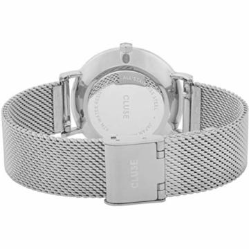CLUSE Damen Analog Quarz Uhr mit Edelstahl Armband CW0101203005 - 3