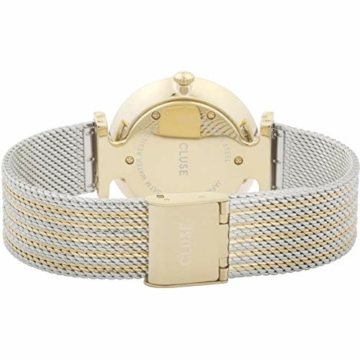 Cluse Damen Analog Quarz Uhr mit Edelstahl Armband CW0101208002 - 3