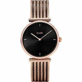 CLUSE Damen Analog Quarz Uhr mit Edelstahl Armband CW0101208005 - 1