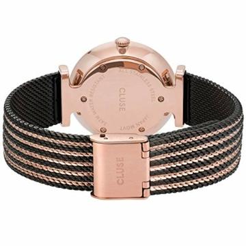 CLUSE Damen Analog Quarz Uhr mit Edelstahl Armband CW0101208005 - 3