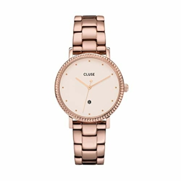 Cluse Damen Analog Quarz Uhr mit Edelstahl Armband CW0101209009 - 1