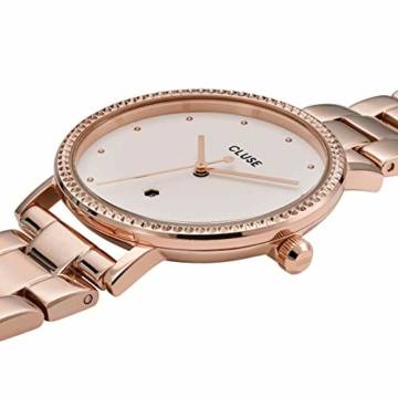 Cluse Damen Analog Quarz Uhr mit Edelstahl Armband CW0101209009 - 2