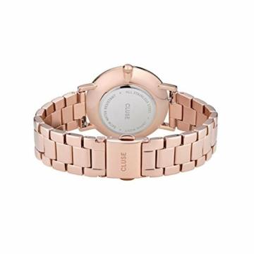 Cluse Damen Analog Quarz Uhr mit Edelstahl Armband CW0101209009 - 3