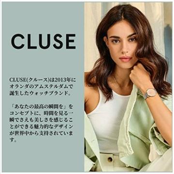 Cluse Damen Analog Quarz Uhr mit Edelstahl Armband CW0101209009 - 6