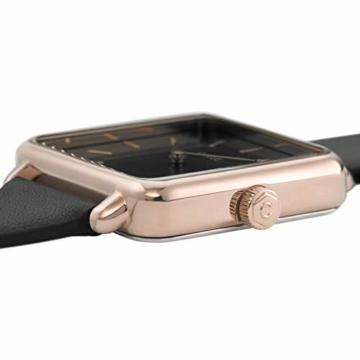 Cluse Damen Analog Quarz Uhr mit Leder Armband CL60007 - 3