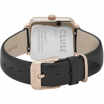 Cluse Damen Analog Quarz Uhr mit Leder Armband CL60007 - 4