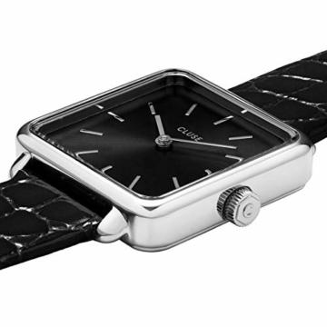 Cluse Damen Analog Quarz Uhr mit Leder Armband CW0101207027 - 2