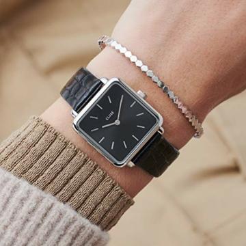 Cluse Damen Analog Quarz Uhr mit Leder Armband CW0101207027 - 4