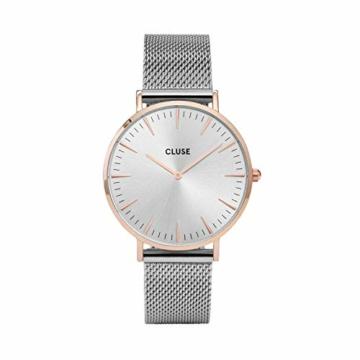 Cluse Damen-Armbanduhr Analog Quarz Edelstahl CL18116 - 1