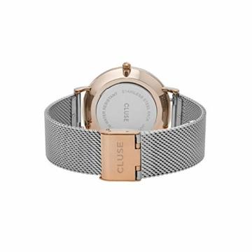 Cluse Damen-Armbanduhr Analog Quarz Edelstahl CL18116 - 3