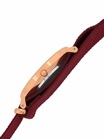 Daniel Wellington Classic Roselyn, Rubinrot/Roségold Uhr, 36mm, NATO, für Damen und Herren - 2