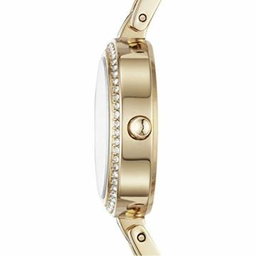 DKNY City Link 3-Zeiger-Uhr aus goldfarbenem Edelstahl NY2825 - 3