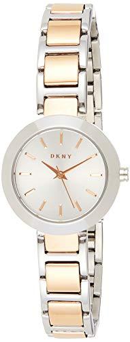 DKNY Damen Analog Quarz Uhr mit Edelstahl Armband NY2402 - 1