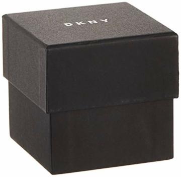 DKNY Damen Analog Quarz Uhr mit Edelstahl Armband NY2402 - 5