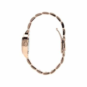 DKNY Damen Analog Quarz Uhr mit Edelstahl Armband NY2496 - 2