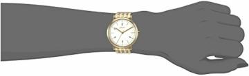 DKNY Damen Analog Quarz Uhr mit Edelstahl Armband NY2503 - 2